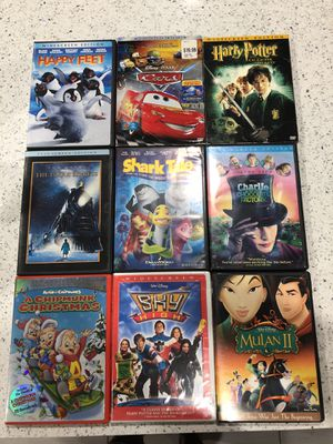Blue ray DVD's good condition $4 dollars kissimmee/poinciana area. for Sale in Poinciana, FL