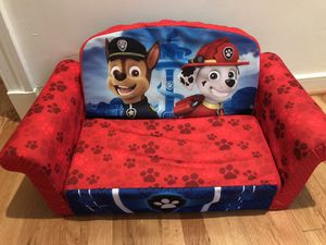 Paw Patrol chair/pull out for Sale in Washington, DC