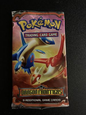 Unweighed Pokemon Ex Dragon Booster Pack Latios