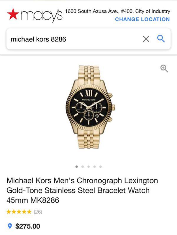 529dcf61c8f3 Michael Kors Men s 8286 for Sale in Fullerton