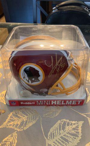 Laron Landry Signed Mini Helmet for Sale in Fairfax, VA
