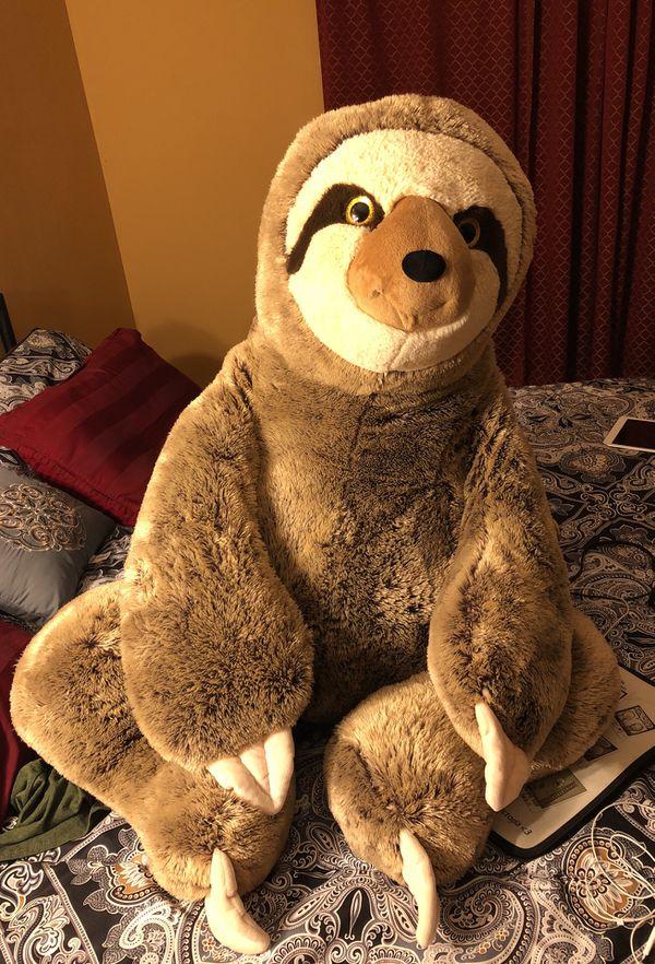 Giant Stuffed Animal Sloth For Sale In Deltona Fl Offerup