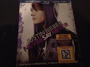Justin's Bieber DVD for Sale in Tampa, FL