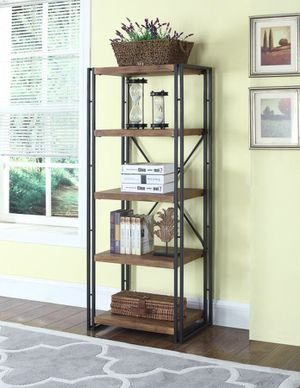 BOOKCASE WEATHERED CHESTNUT for Sale in Hialeah, FL