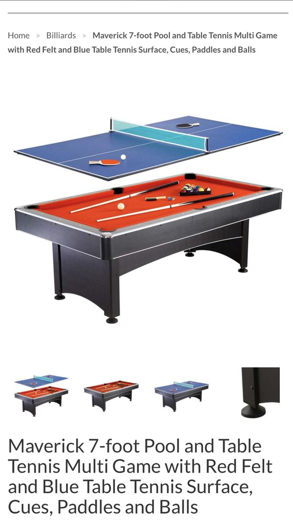 Im Selling A Ft Stratosphere Air Hockey Table Its Brand New - Maverick pool table