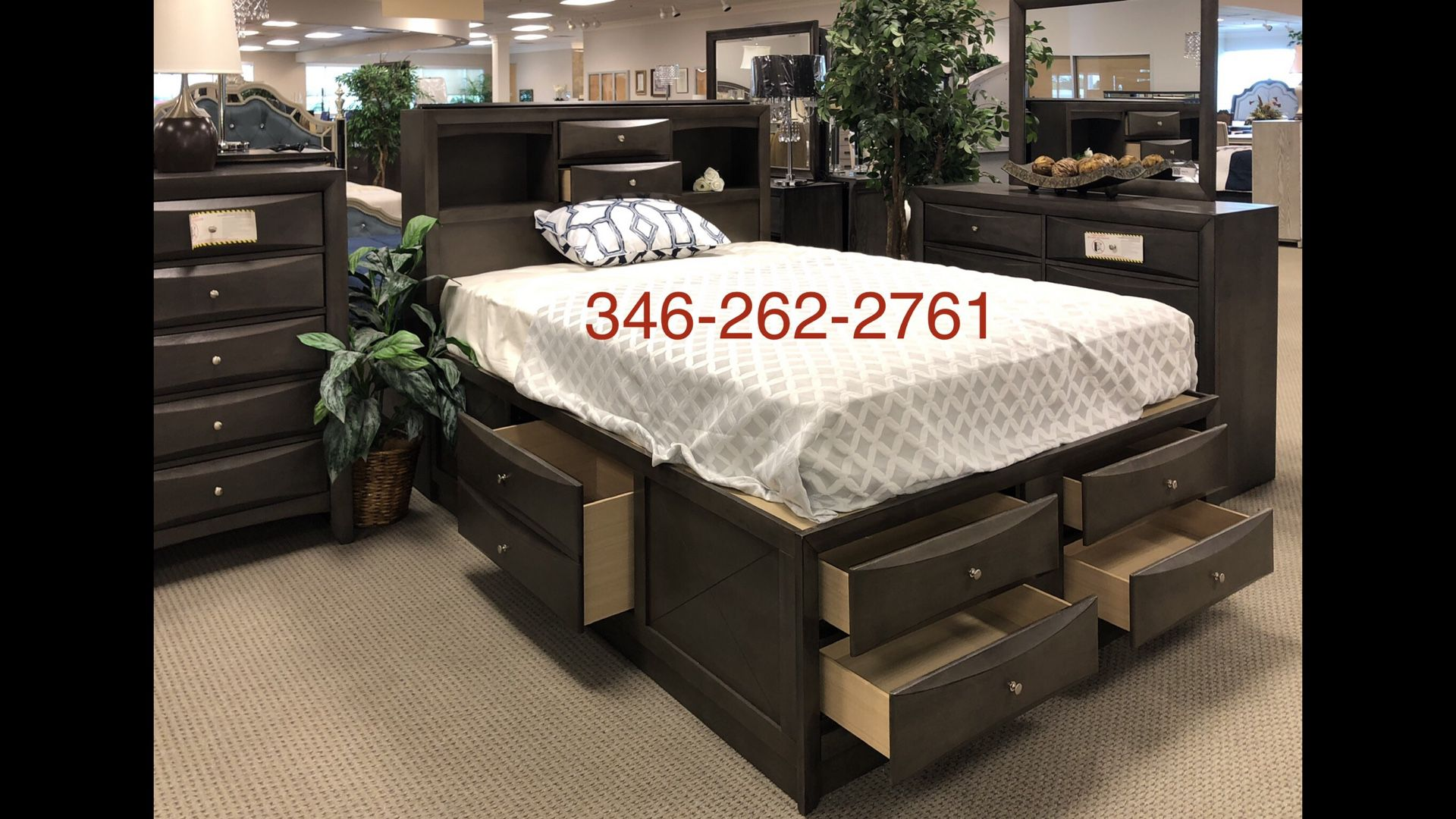 ANEW NEW NEW BEDROM SETS ALL STARTING AT LOW PRICES