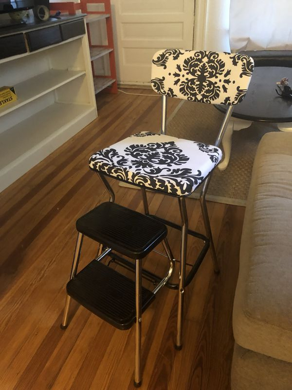 Enjoyable Vintage 1950S Cosco Step Stool Chair For Sale In Denver Co Offerup Machost Co Dining Chair Design Ideas Machostcouk