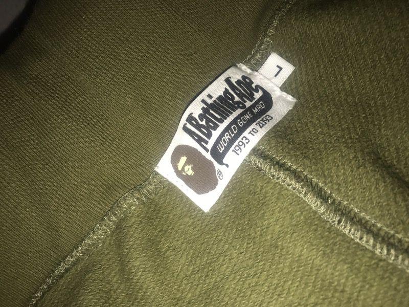 Bape 1st camo shorts