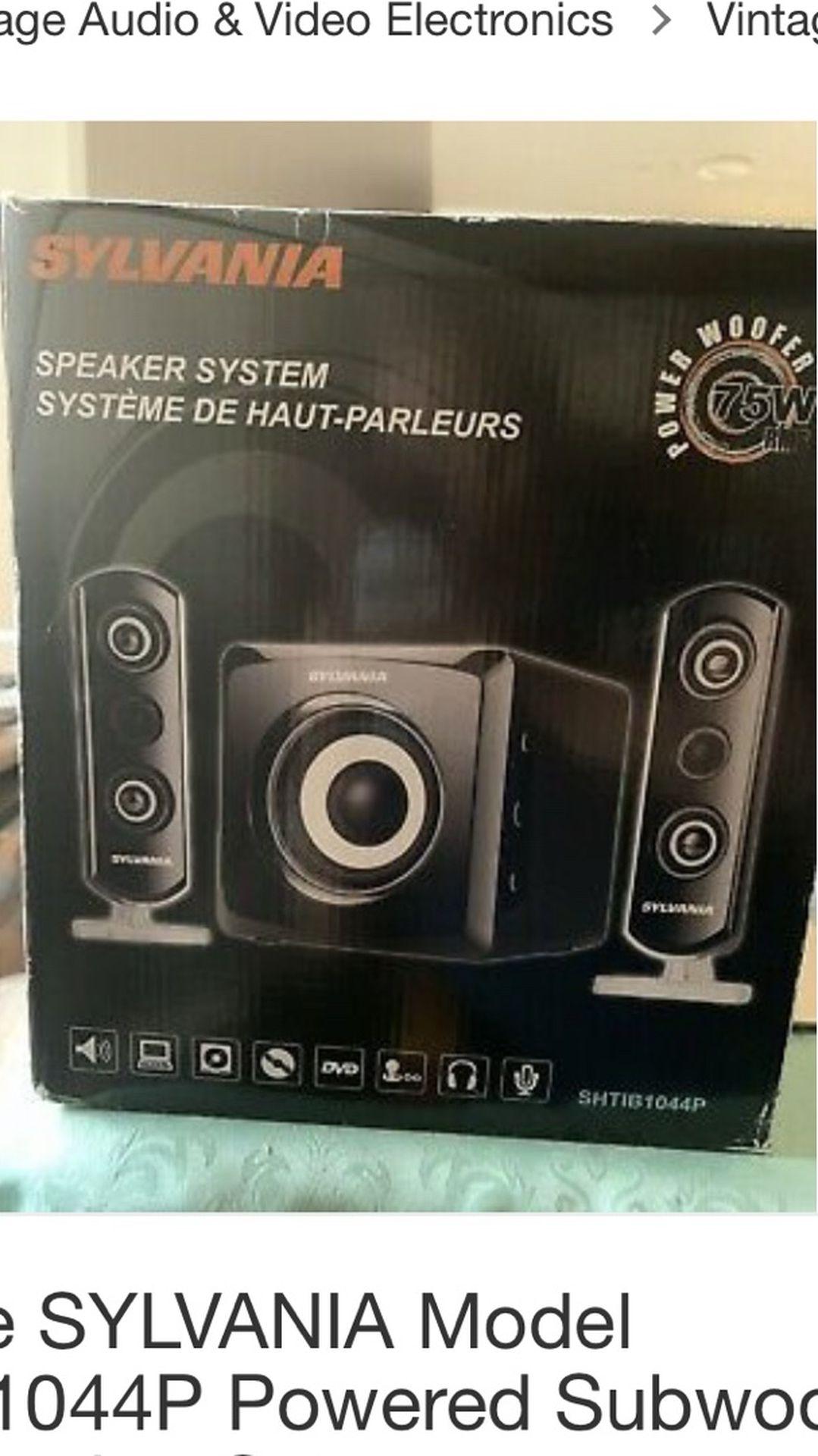 Subwoofer & Speakers