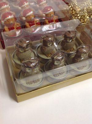 Christmas and Winter Candles (Santa, Snowman,Christmas Bear,Christmas Tree,Owl,Little Angel). for Sale in Manassas, VA