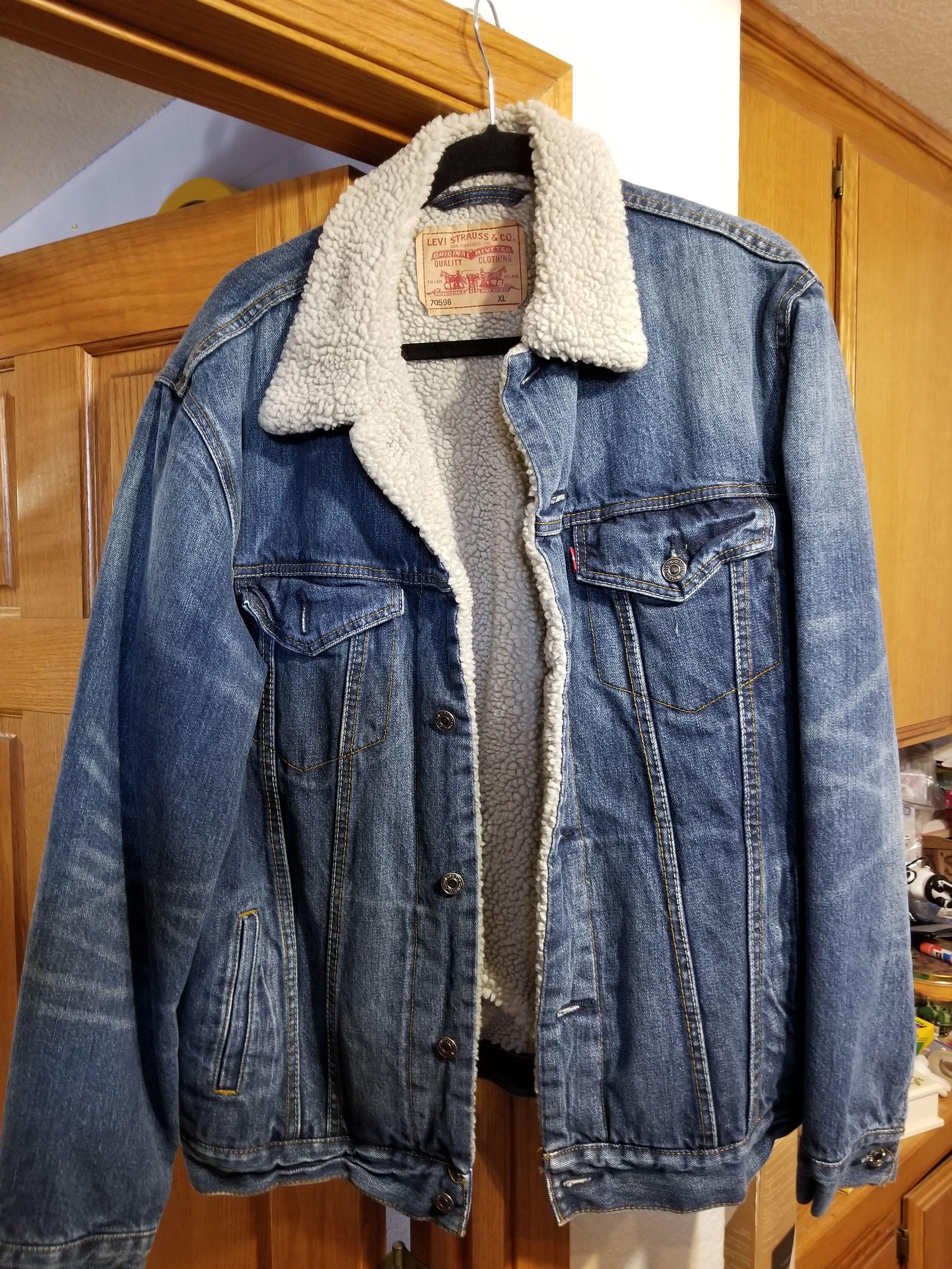 ackets Railroad jackets, Dodgers jersey, Levi jackets winter jackets mint condition
