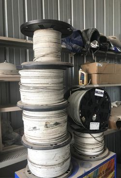 Cat 5 cable 1000ft rolls selling all for $125 Thumbnail