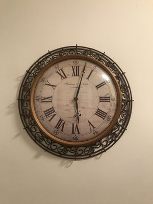 Wall clock decor for Sale in Silver Spring, MD