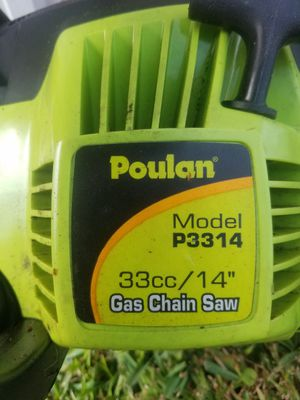 Poulan chainsaw for Sale in Orlando, FL
