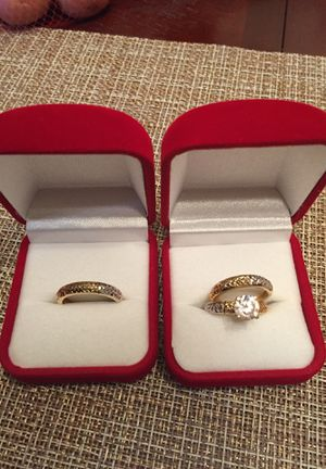 Wedding/marriage proposal rings (14k gold) for Sale in Adelphi, MD