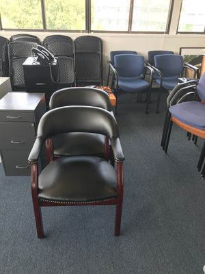 Office reception chairs for Sale in Reston, VA