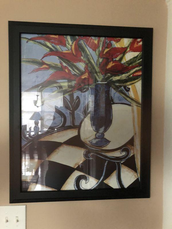 5 Piece Framed Artwork for Sale in Stockbridge, GA - OfferUp