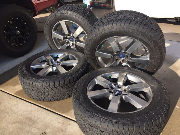 20 Ford F150 Factory Rims And Tires 275 55r20 For Sale In San