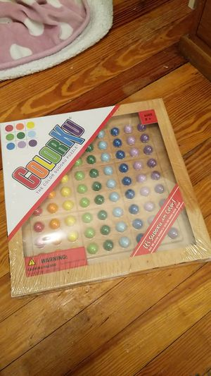 ColorKu board game kids puzzle for Sale in New York, NY