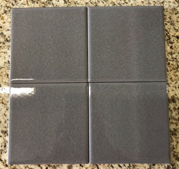 X GREY GLOSSY CERAMIC TILE For Sale In Santa Fe Springs CA OfferUp - 4x4 grey ceramic tile