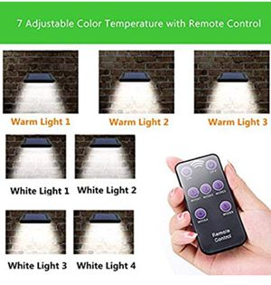 Solar Lights Outdoor, Solar Powered Security Light Wireless 48LED 450lm IP65 Waterproof for Sale in New York, NY