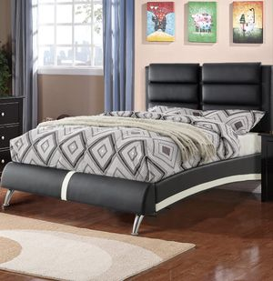 queen size platform bed frame for Sale in Kensington, MD