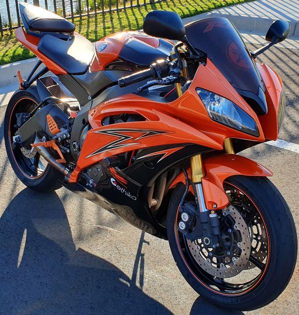2009 yamaha r6 vivid orange (special edition)