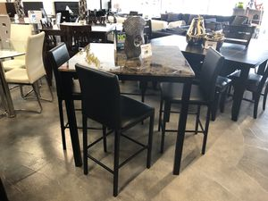 5 Piece Pub Link Dining Table Set for Sale in Miami Springs, FL