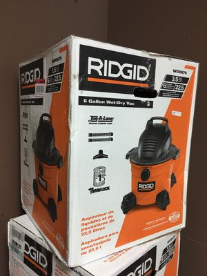 BRAND NEW RIDGID 6 Gal. Wet/Dry Vacuum for sale  Tulsa, OK