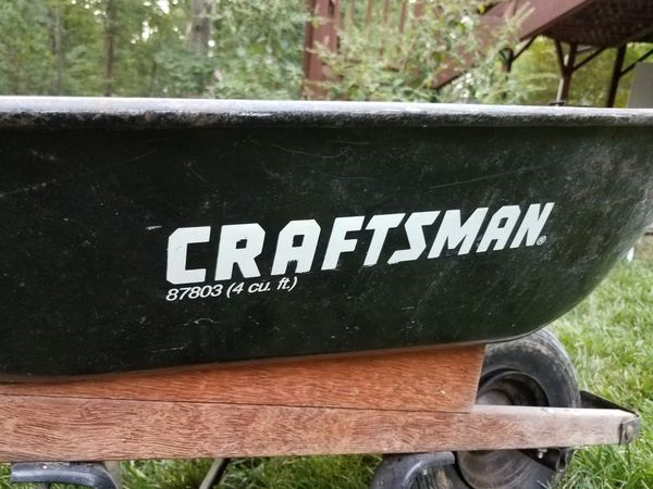 Craftsman 4 Cubic Foot Wheelbarrow For Sale In High Point