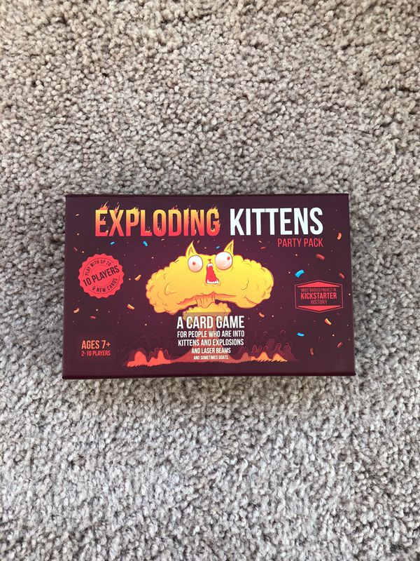 Exploding Kittens - Party Pack for Sale in Chicago, IL - OfferUp