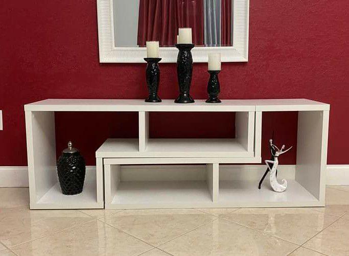 New shelf/ tv stand in box