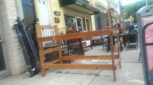 Sturdy Wood Bunk Bed Frame for Sale in Philadelphia, PA