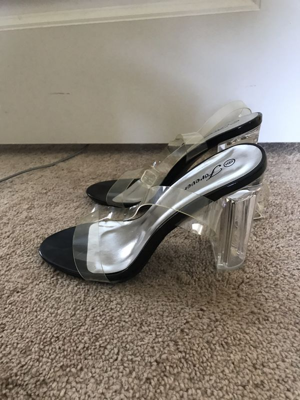 1a7c1e8c3da New and Used Clear heels for Sale in Hesperia, CA - OfferUp