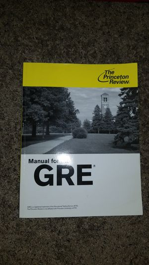 GRE Test Manual for Sale in San Diego, CA