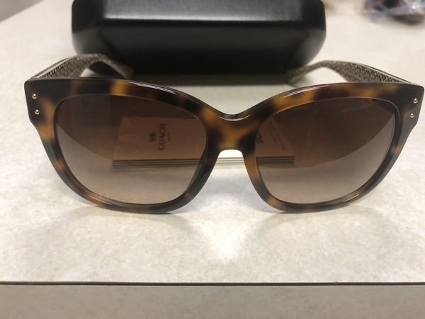 6a8a29eac7 Coach Sunglasses New In Box Women s For a great price for Sale in ...