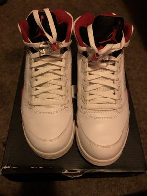 online retailer df340 e85b7 Air Jordan Fire Red 5s Sz 10.5 for Sale in San Francisco, CA