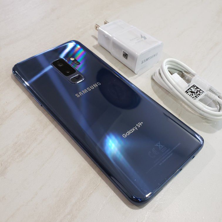 🌍Unlocked🌏 Galaxy S9 Plus 64gb Blue Used great conditions (price is firm)