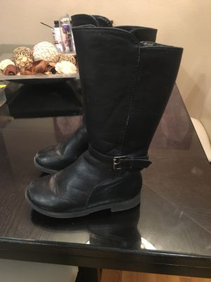 Children's Place tall black boots for Sale in Denver, CO