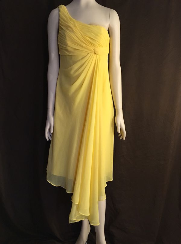 aac3b7b1867 David s Bridal yellow dress women s size 4 for Sale in Phoenix