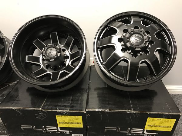 Fuel Dually Wheels >> Fuel Dually Wheels For Dodge Gm Trucks For Sale In Mokena