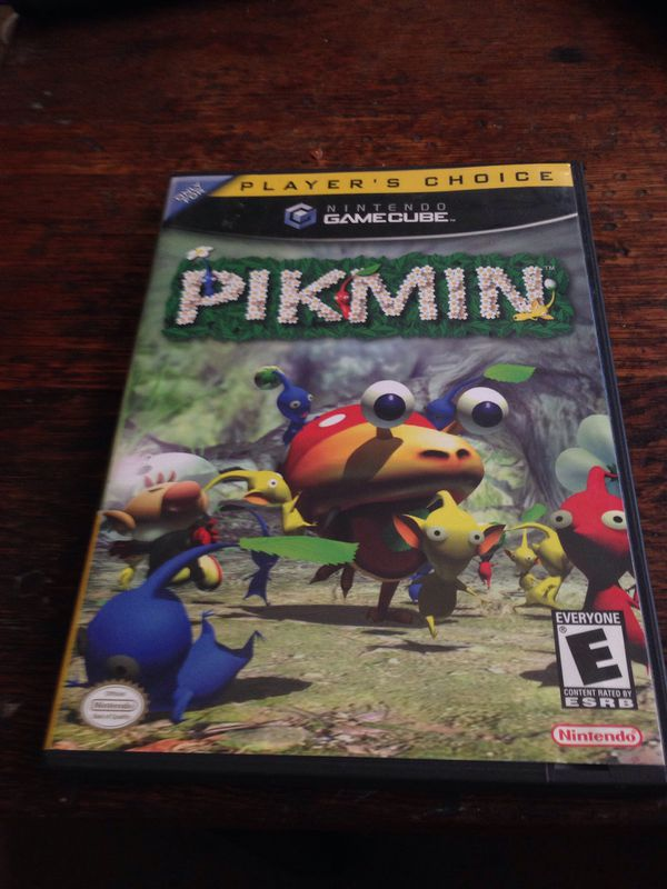 Pikmin Nintendo Gamecube Complete In Box Clean Disc Adult