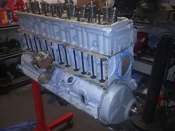 Chevy engines inline six parts 216 235 250 for Sale in ...