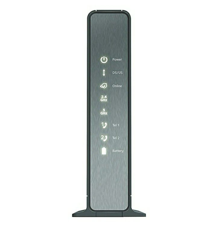 NETGEAR Nighthawk AC1900 (24x8) DOCSIS 3.0 WiFi Cable Modem Router Combo For XFINITY Internet & Voice