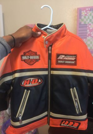 All leather Harley Davidson Motorcycle Jacket 2t for Sale in Oxon Hill, MD