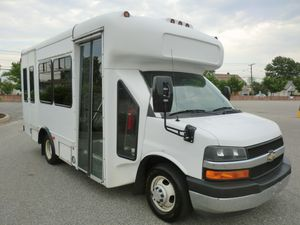 2008 Chevy Diesel Wheelchair Shuttle Bus (A4543) for Sale in Washington, DC