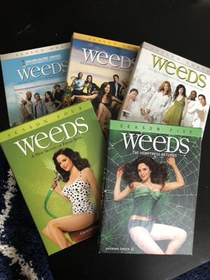 Weeds Seasons 1-5 for Sale in Houston, TX
