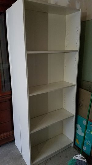 New And Used White Bookcase For Sale In Bremerton Wa Offerup