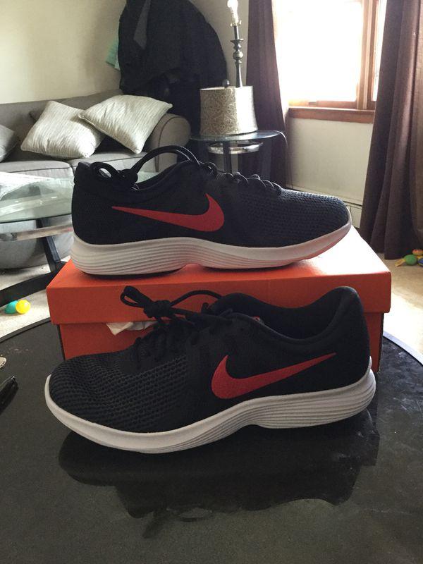865ad83b0e26 New nike revolution 4 men running sneakers size 13 color black for ...