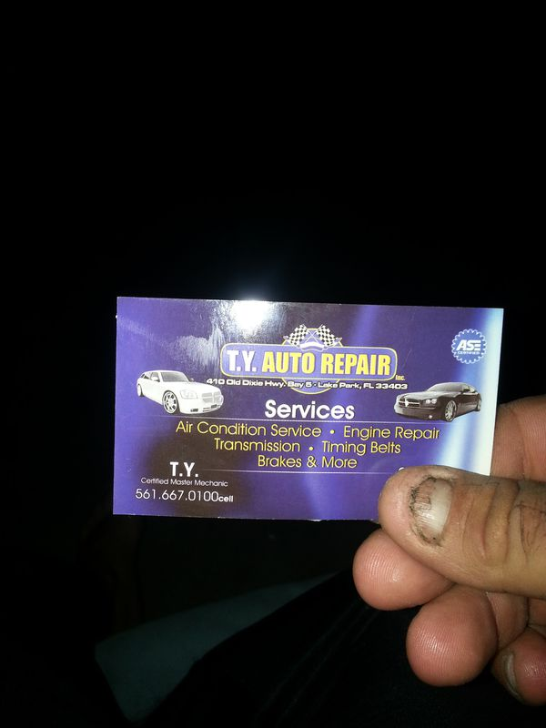 Ty Mobile Auto Repair Ase Certified For Sale In West Palm Beach Fl